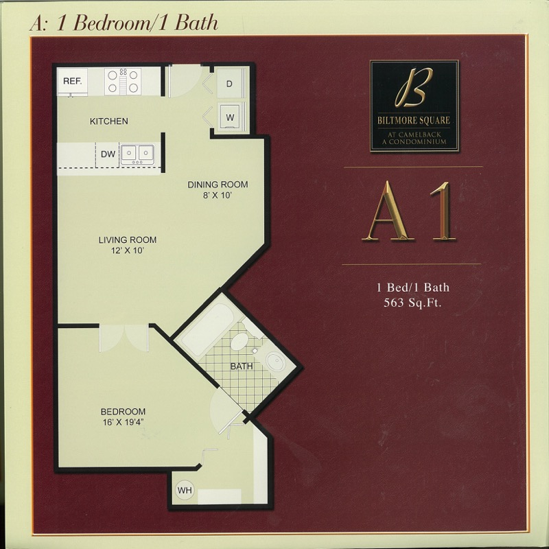 A1: Small 1 Bedroom